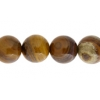 Iron Zebra Jasper 10mm Round 17pcs Approx